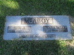Clara Belle Bessie <i>Welch</i> McAboy
