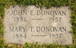 Mary T <i>Smith</i> Donovan