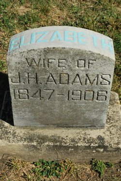 Elizabeth <i>Walters</i> Adams