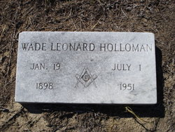 Wade Leonard Holloman