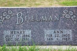 Hendrik Henry Boelman