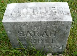 Sarah <i>Eastman</i> Cole