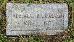 Adelaide R Leonard