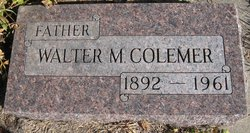 Walter Monroe Colemer