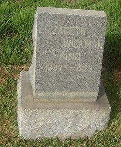 Elizabeth <i>Wickman</i> King