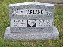 Genevieve E <i>Buterbaugh</i> McFarland