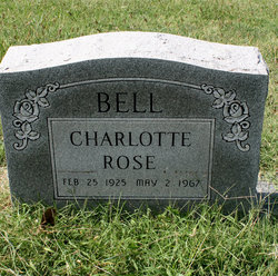Charlotte Rose <i>Croskey</i> Bell