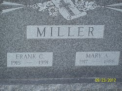 Mary A Miller