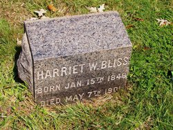 Harriet <i>Whitman</i> Bliss
