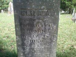 Eliza Ann <i>Chapman</i> Allen