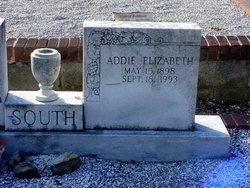 Adeline Elizabeth Addie <i>Towns</i> South