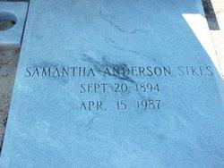 Samantha <i>Anderson</i> Sikes