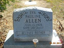Iva Pauline <i>Gaither</i> Allen