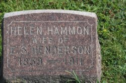Helen Louise <i>Hammon</i> Henderson