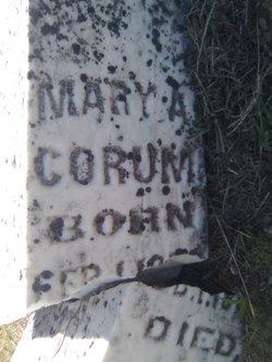 Mary A <i>Kreider</i> Corum