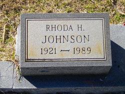 Rhoda <i>Hibley</i> Johnson