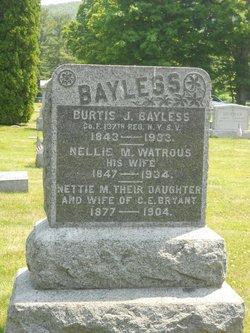 Nellie M. <i>Watrous</i> Bayless