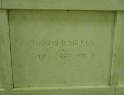 Thomas R McBain