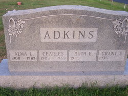 Alma Lucille <i>Leonard</i> Adkins