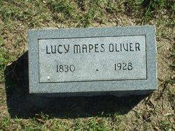 Lucy <i>Mapes</i> Oliver