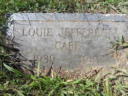 Louie Jefferson Cabe