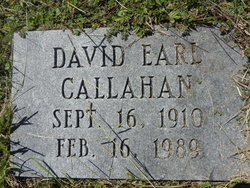 David Earl Callahan