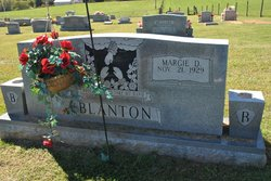 Margie Dene <i>Lawrence</i> Blanton