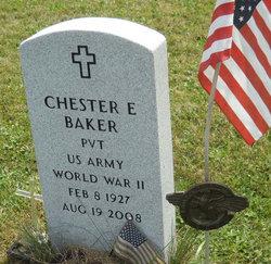 Pvt Chester E Baker