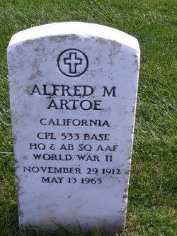 Alfred M Artoe