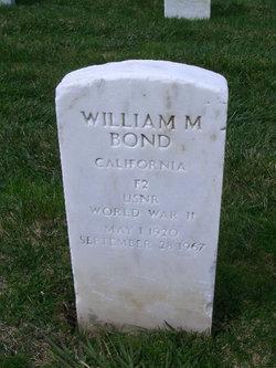 William M Bond