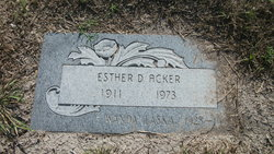 Esther D. Acker