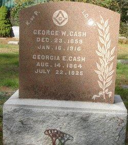 Georgia E Cash
