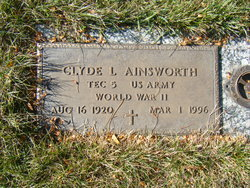 Clyde L Ainsworth
