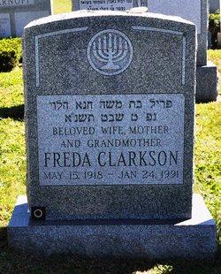 Freda <i>Truboff</i> Clarkson