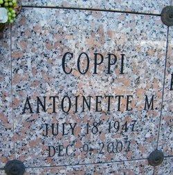 Antoinette M Coppi
