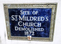 St Mildred Poultry Church (Defunct)