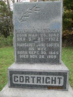 Margaret Jane <i>Custer</i> Cortright