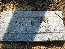 William T Browne