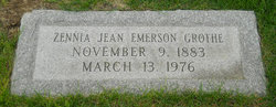 Zennia Jean <i>Reynders</i> Emerson Grothe