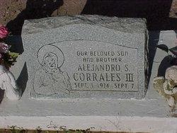 Alejandro S Corrales, III