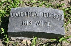 Dorothea <i>Deutsch</i> Wolkau