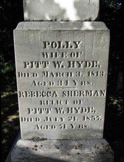 Mary Polly <i>Kilbourne</i> Hyde