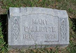 Mary Calliotte