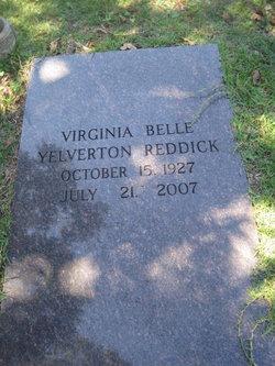 Virginia Belle <i>Yelverton</i> Reddick