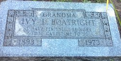 Ivy Louise <i>Bainbridge</i> Boatright