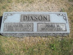 Elizabeth Ann Lizzie <i>Plows</i> Dixson