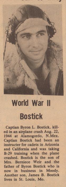 Byron Leo Bostick