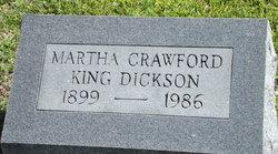 Martha Jane <i>Crawford</i> Dickson