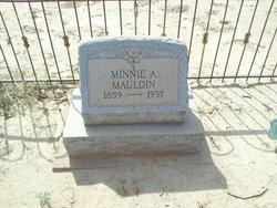 Minnie A <i>Bublich</i> Mauldin