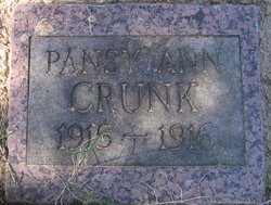 Pansy Ann Crunk